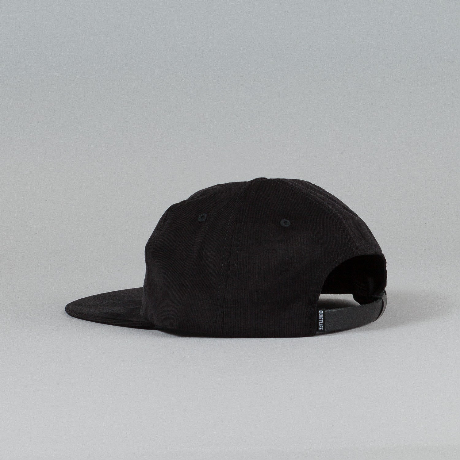 The Quiet Life Arrow Polo Cap Black