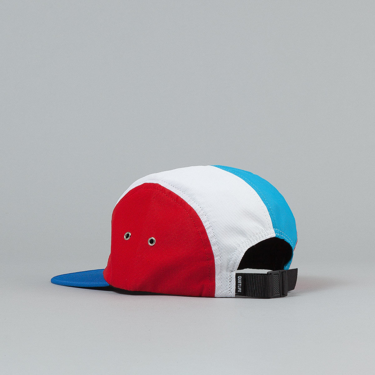 The Quiet Life Aruba 5 Panel Cap - Navy Front / Red Sides