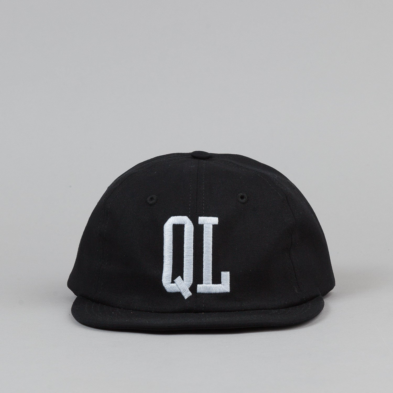 The Quiet Life Ballpark Polo Cap - Black