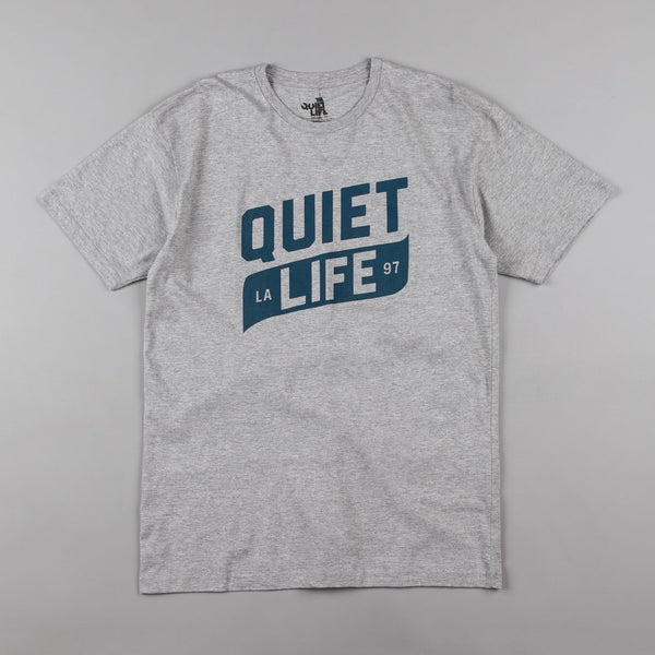 The Quiet Life Banner Premium T-Shirt - Heather Grey