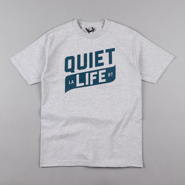 The Quiet Life Banner T-Shirt - Heather Grey