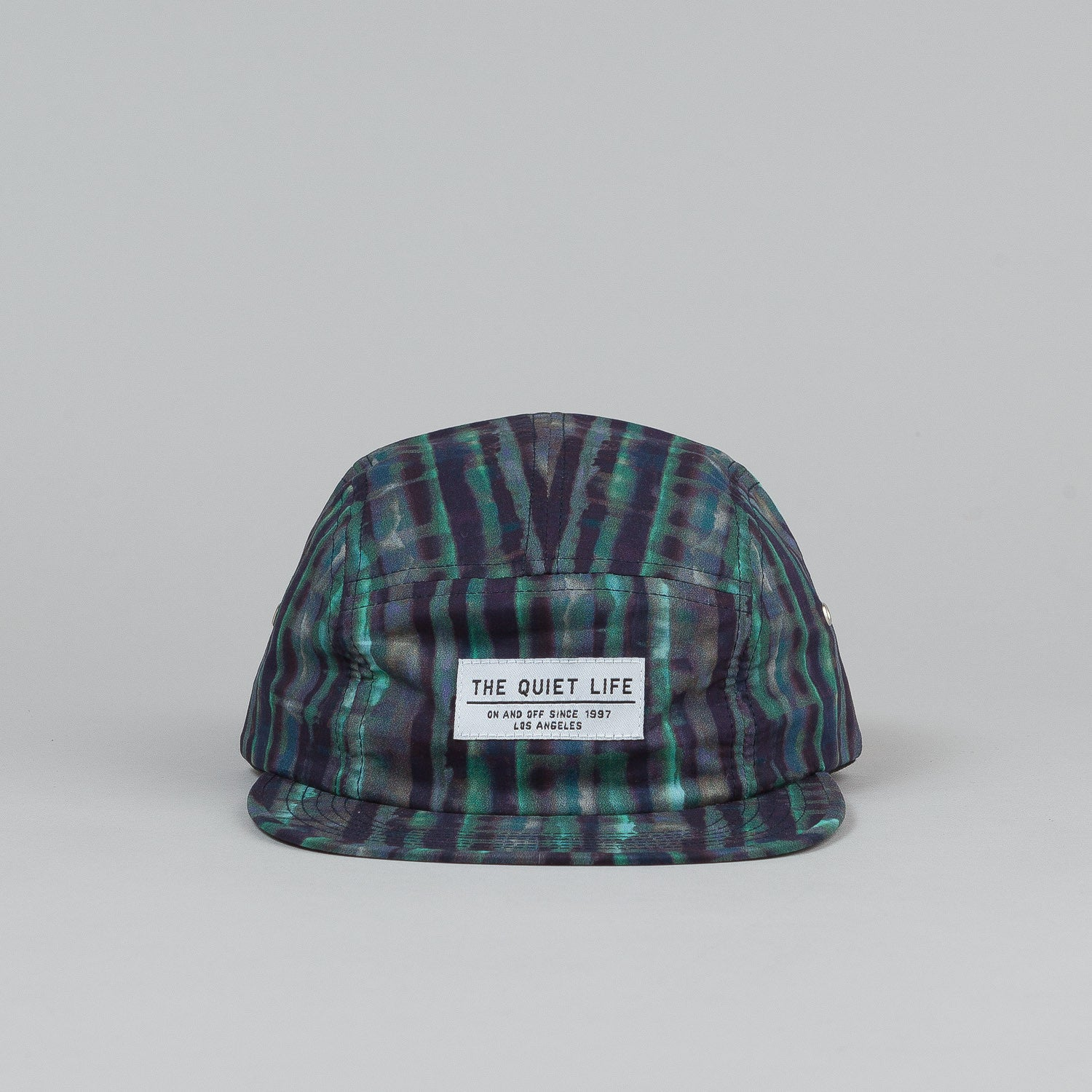 The Quiet Life Batik 5 Panel Cap - Blue