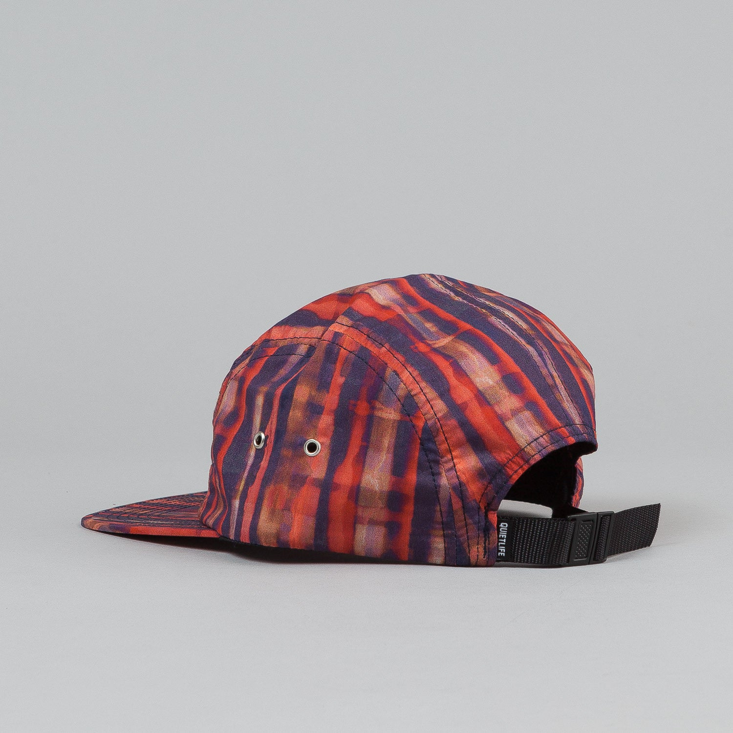 The Quiet Life Batik 5 Panel Cap - Red