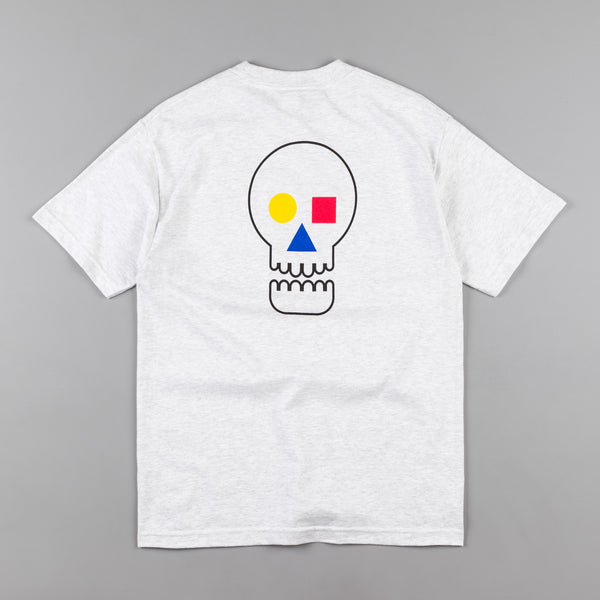The Quiet Life Bauhaus Skull T-Shirt - Ash