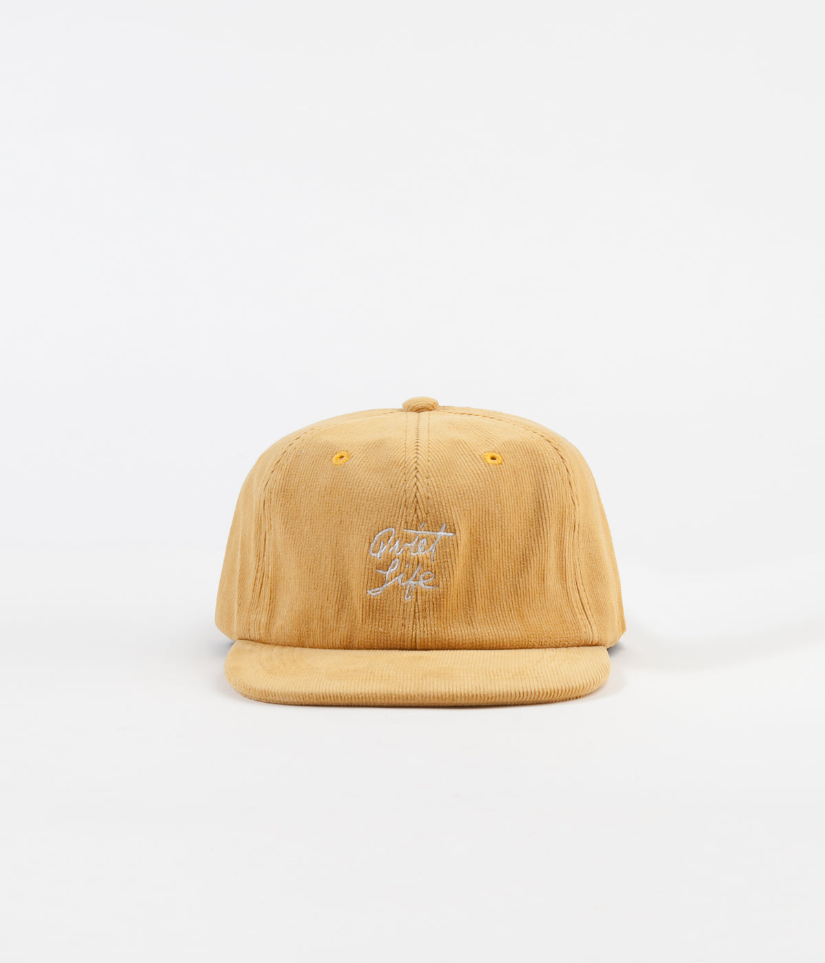 The Quiet Life Beach Cord Polo Cap - Gold
