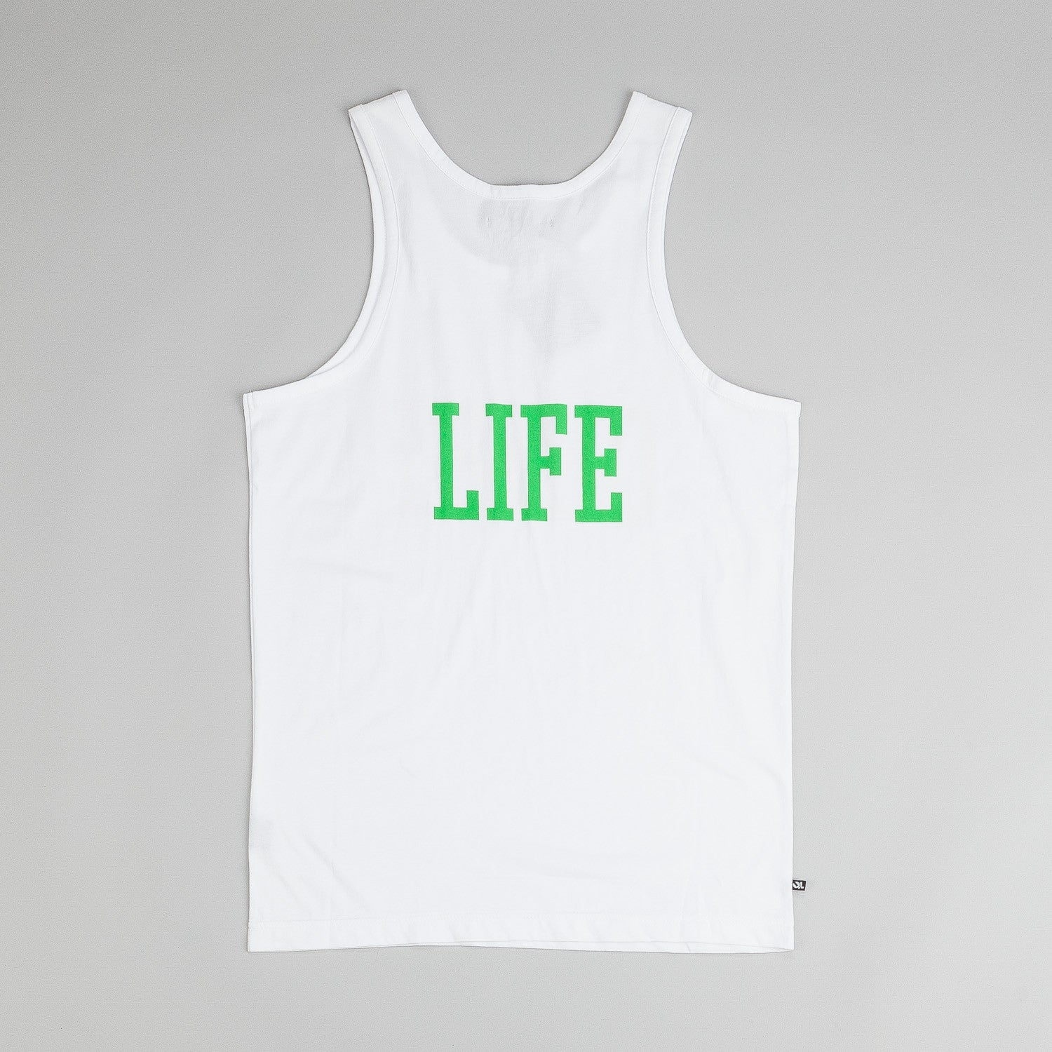 The Quiet Life Beach Tank - White