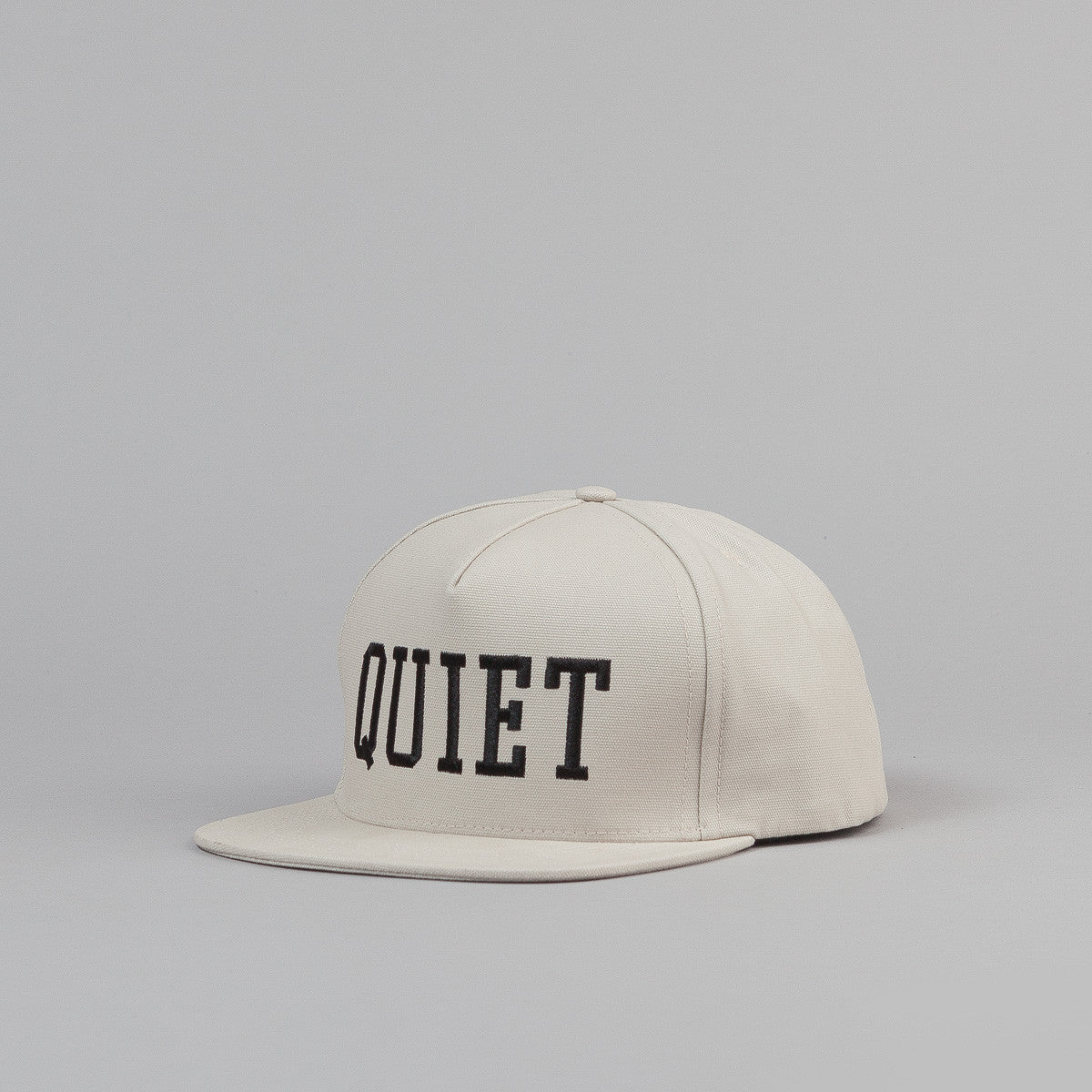 The Quiet Life Big Text Snapback Cap