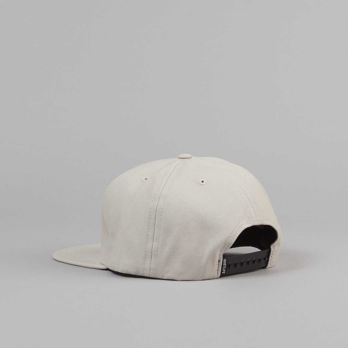 The Quiet Life Big Text Snapback Cap - Tan