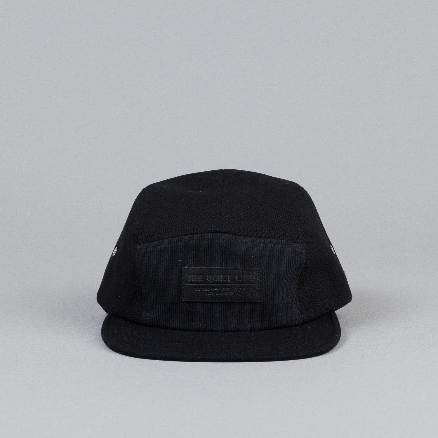 The Quiet Life Blend 5 Panel Cap Black