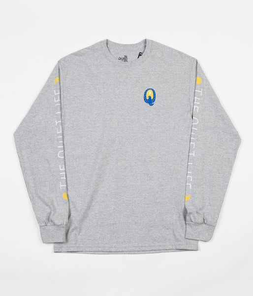 The Quiet Life Bluebird Long Sleeve T-Shirt - Heather Grey