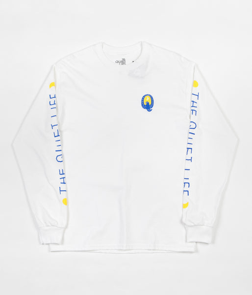 The Quiet Life Bluebird Long Sleeve T-Shirt - White