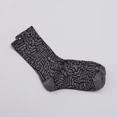 The Quiet life Bolts Socks Grey