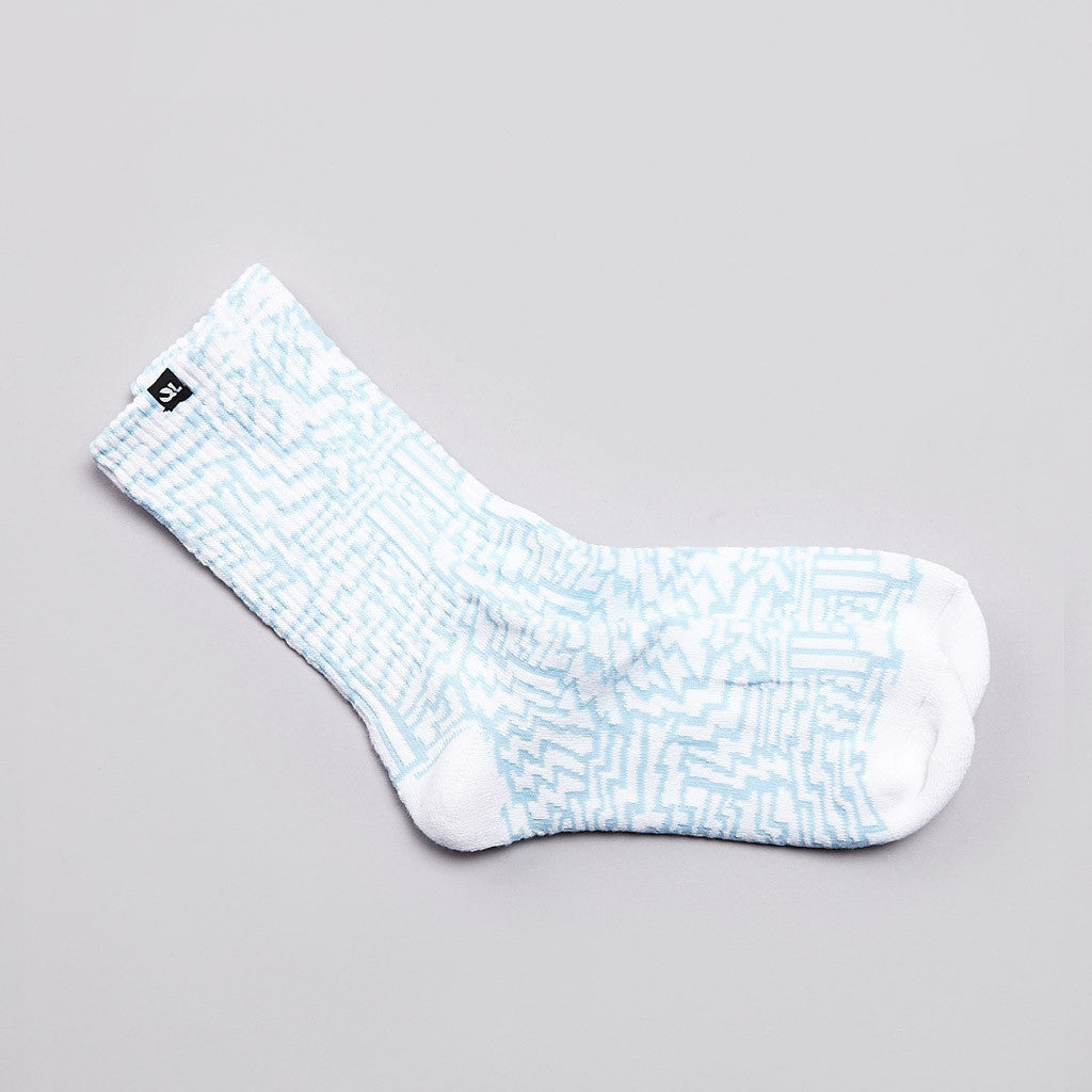The Quiet life Bolts Socks White