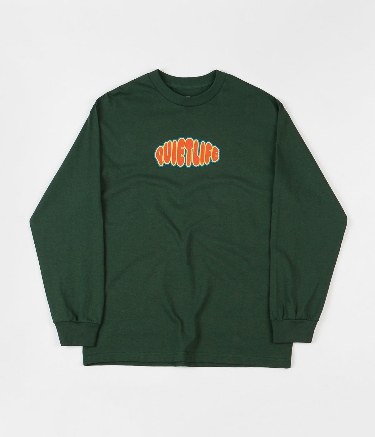 The Quiet Life Bubble Long Sleeve T-Shirt - Hunter Green