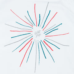 The Quiet Life Burst Pocket T-Shirt - White