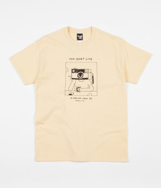 The Quiet Life Camera Head T-Shirt - Yellow