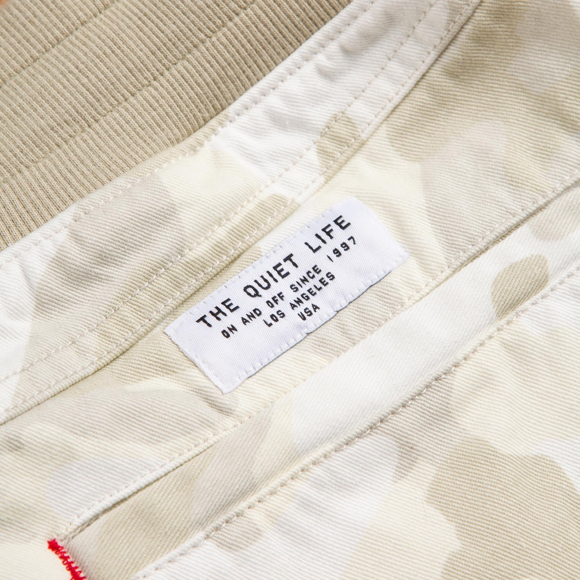 The Quiet Life Camo Jogger Sweatpants - White / Camo
