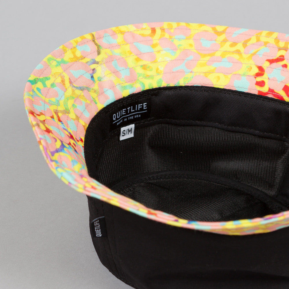 The Quiet Life Camp Counselor Bucket Hat Black Upper