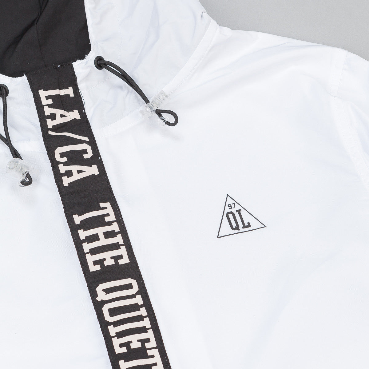 The Quiet Life City Limits Jacket - Black / White