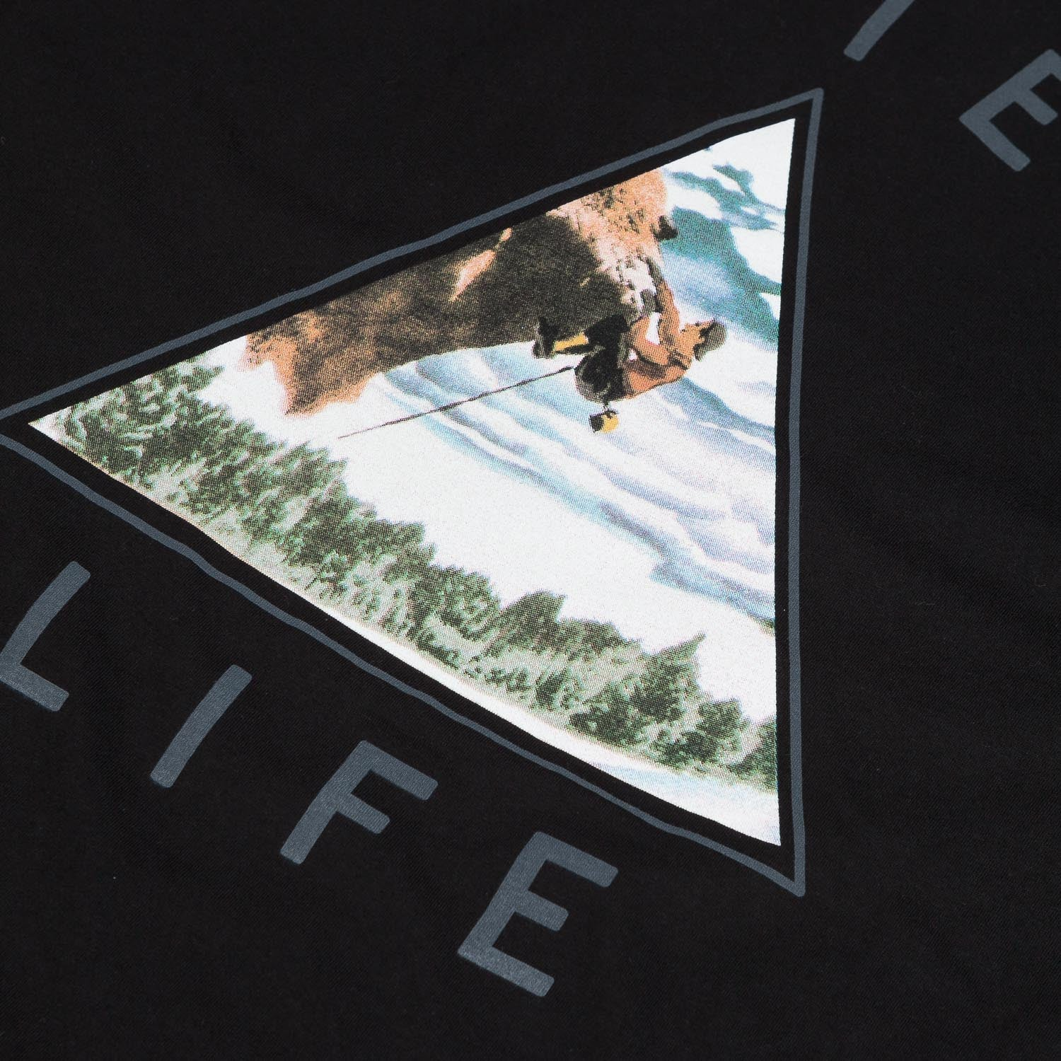 The Quiet Life Climber T-Shirt - Black