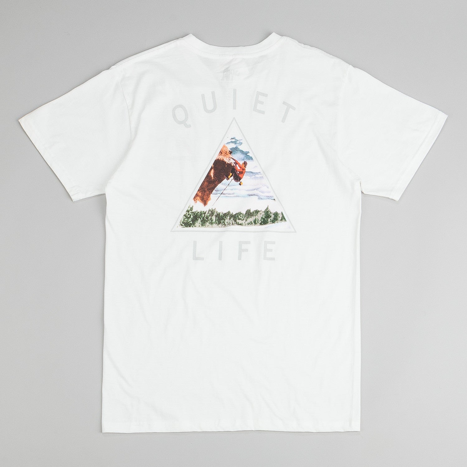 The Quiet Life Climber T-Shirt - White