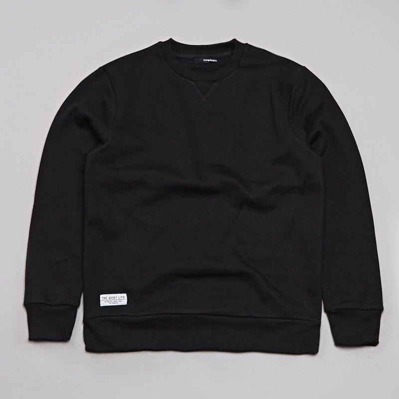 The Quiet Life Cloud Professor Sweatshirt Black