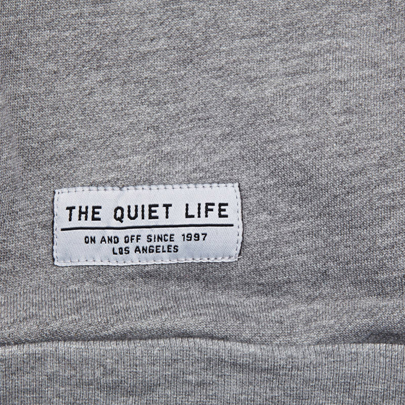 The Quiet Life Cloud Professor Sweatshirt Heather Grey