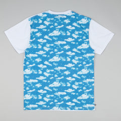 The Quiet Life Clouds T-Shirt - White