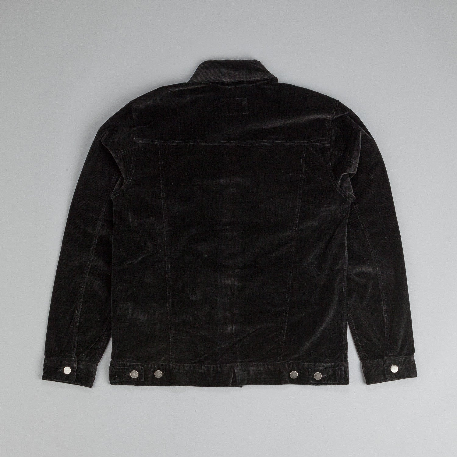 The Quiet Life Color Cord Coach Jacket Black