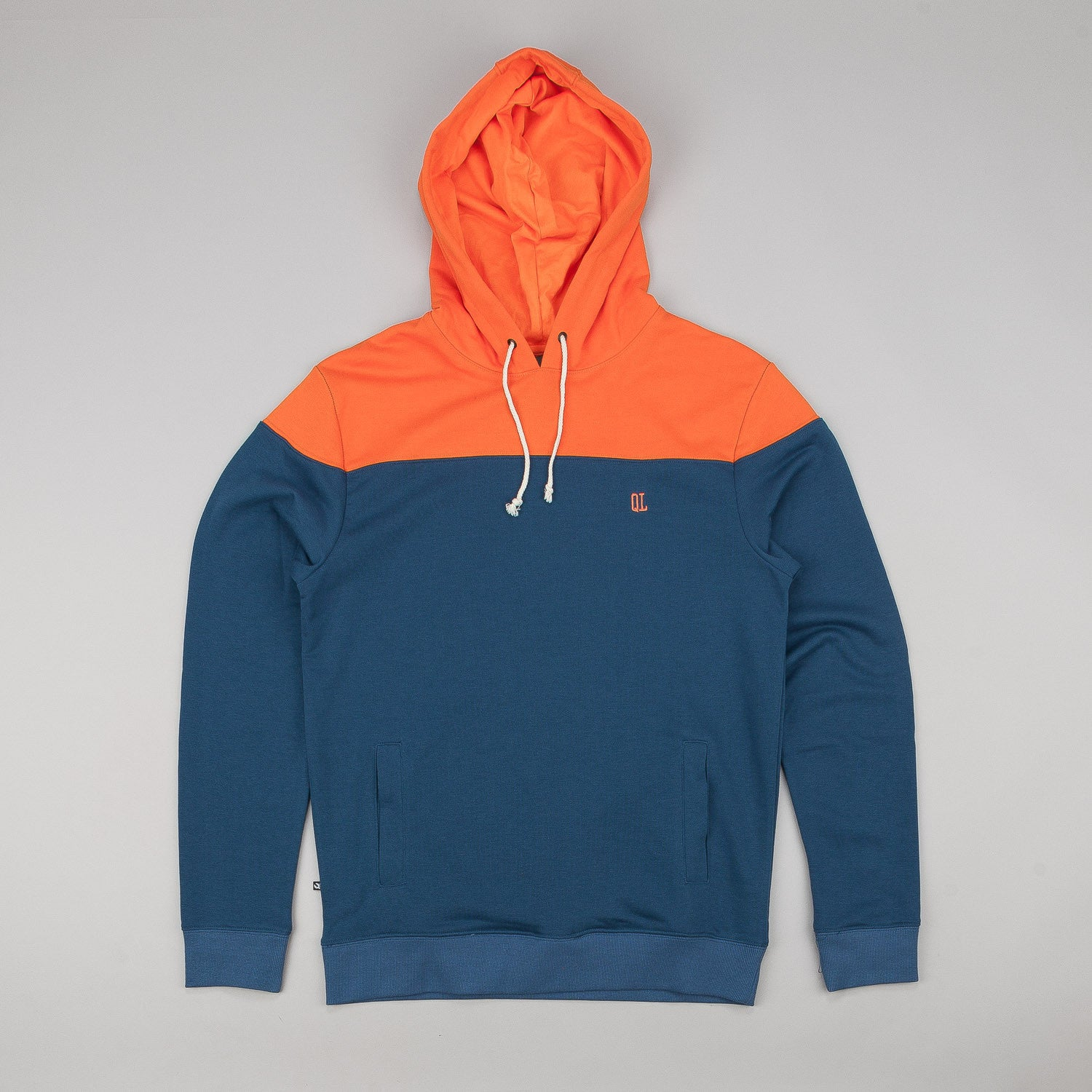 The Quiet Life Colour Block Hooded Sweatshirt