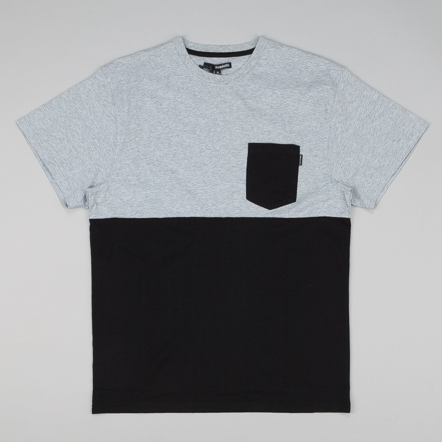 The Quiet Life Colour Blocked Pocket T-Shirt