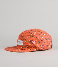 The Quiet Life Confetti 5 Panel Cap - Orange