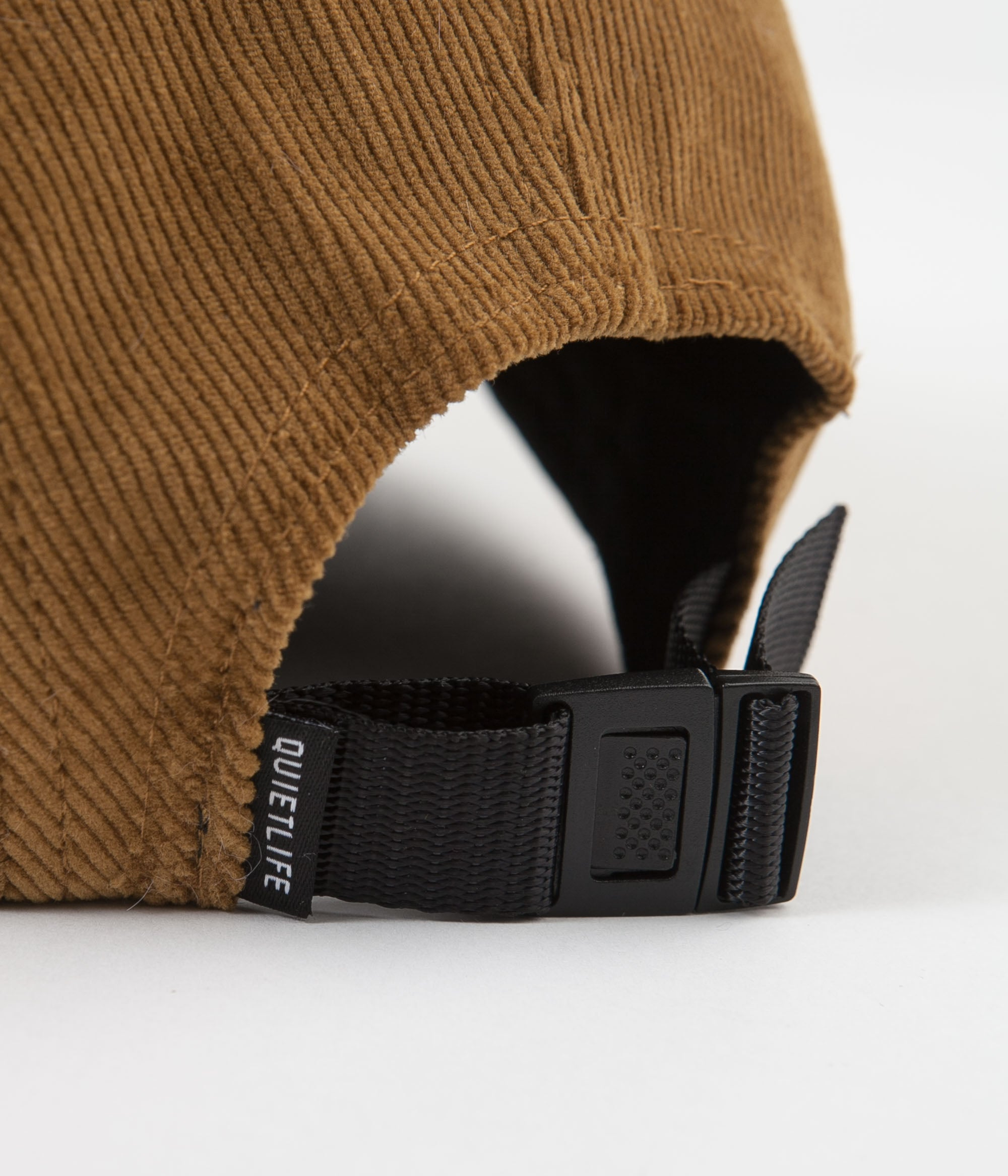 The Quiet Life Cord 5 Panel Camper Cap - Tan