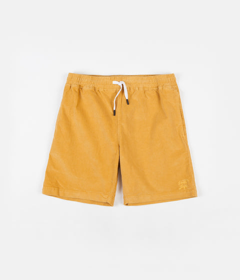 The Quiet Life Cord Beach Shorts - Gold