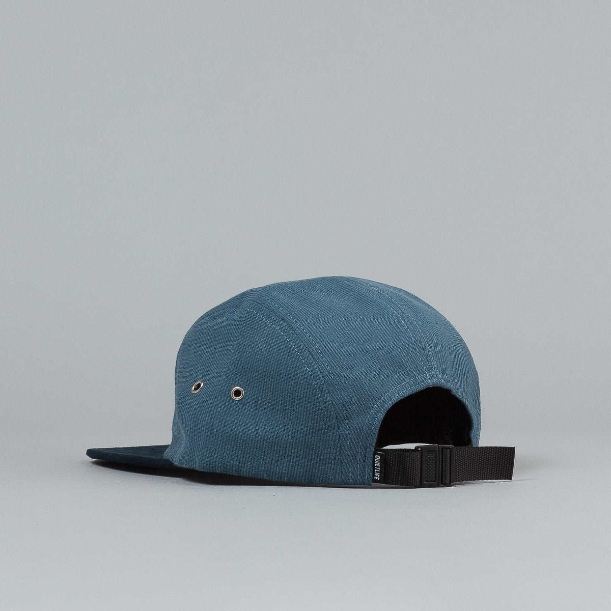 The Quiet Life Cord Combo 5 Panel Cap - Blue / Navy
