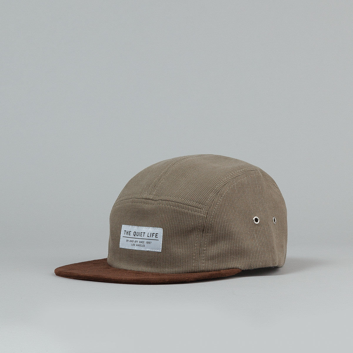 The Quiet Life Cord Combo 5 Panel Cap