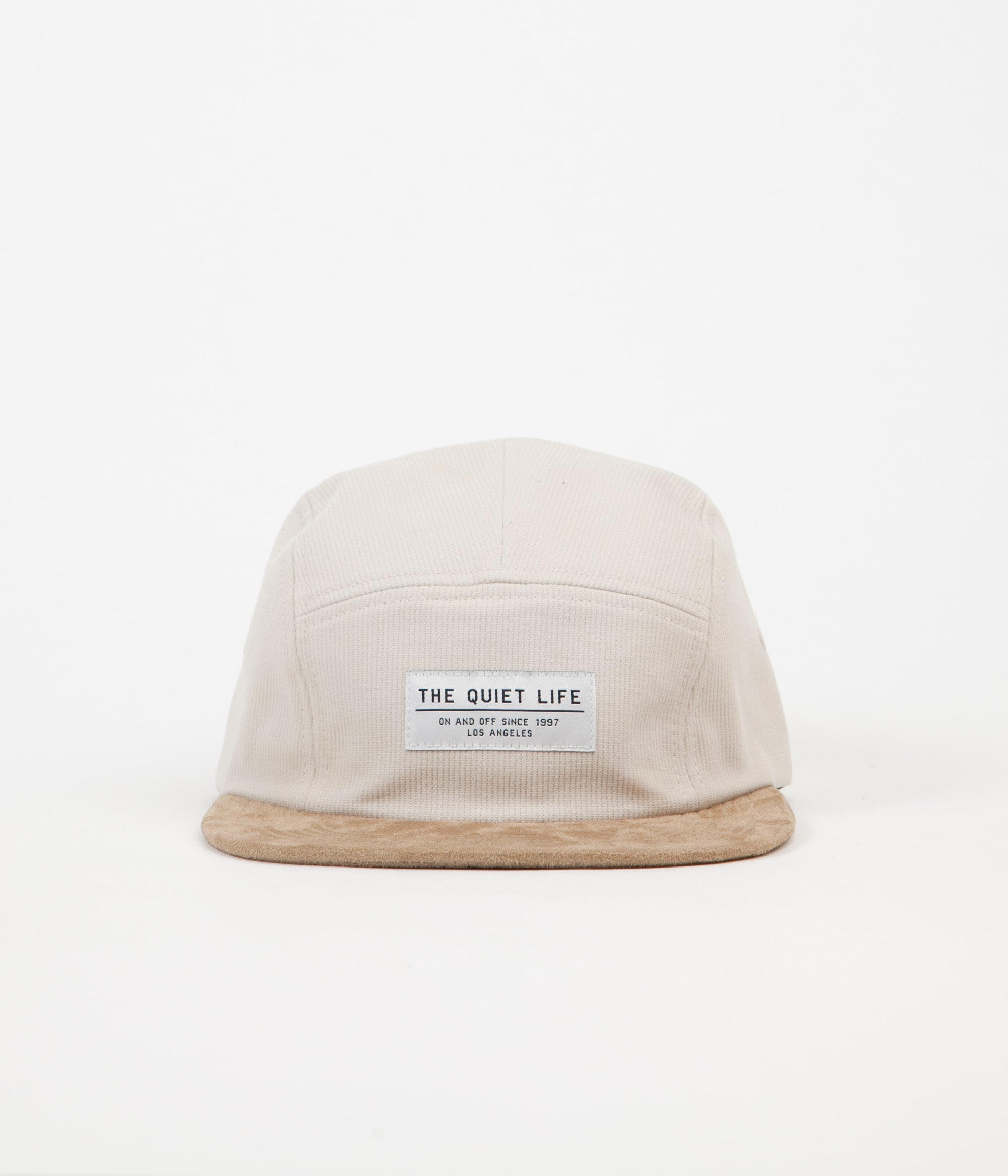 The Quiet Life Cord Combo 5 Panel Cap - Stone