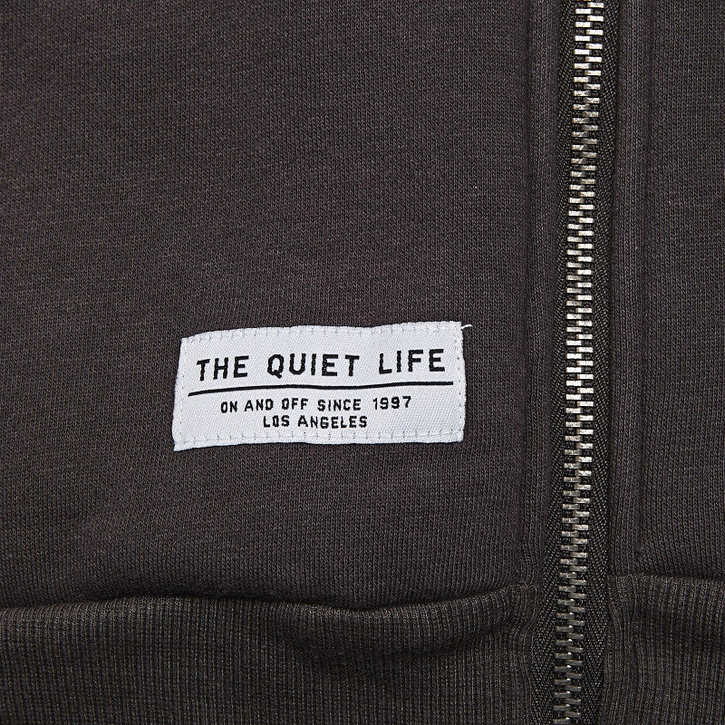 The Quiet Life Cosmic Hooded Sweatshirt Charcoal