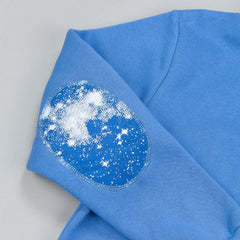The Quiet Life Cosmic Hooded Sweatshirt Royal