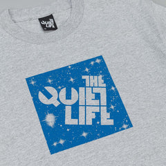 The Quiet Life Cosmos Box Logo T-Shirt - Heather Grey