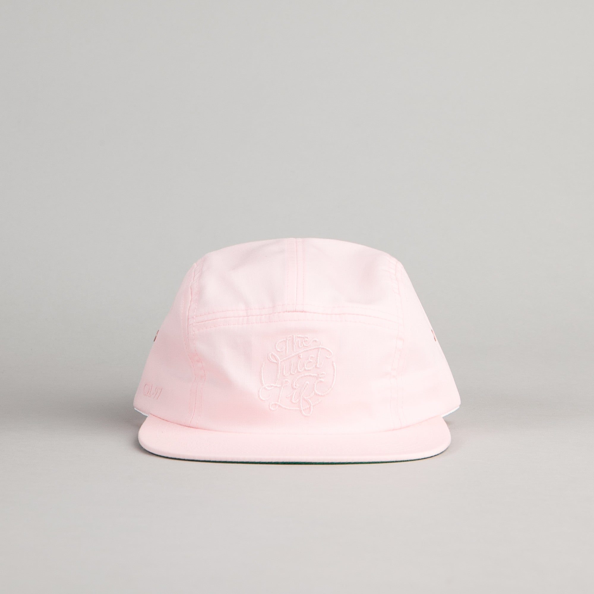 The Quiet Life Court 5 Panel Cap - Pink