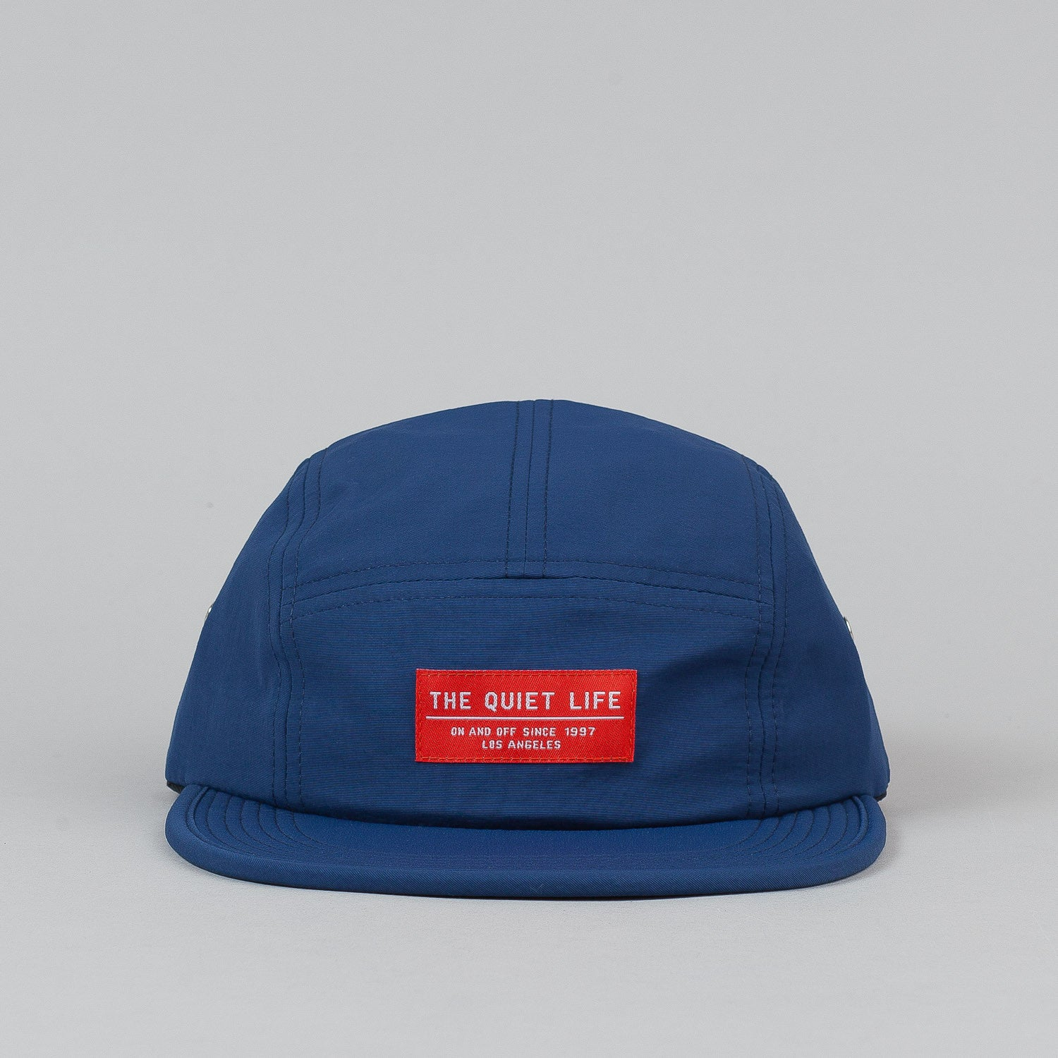 The Quiet Life Crush 5 Panel Cap - Navy