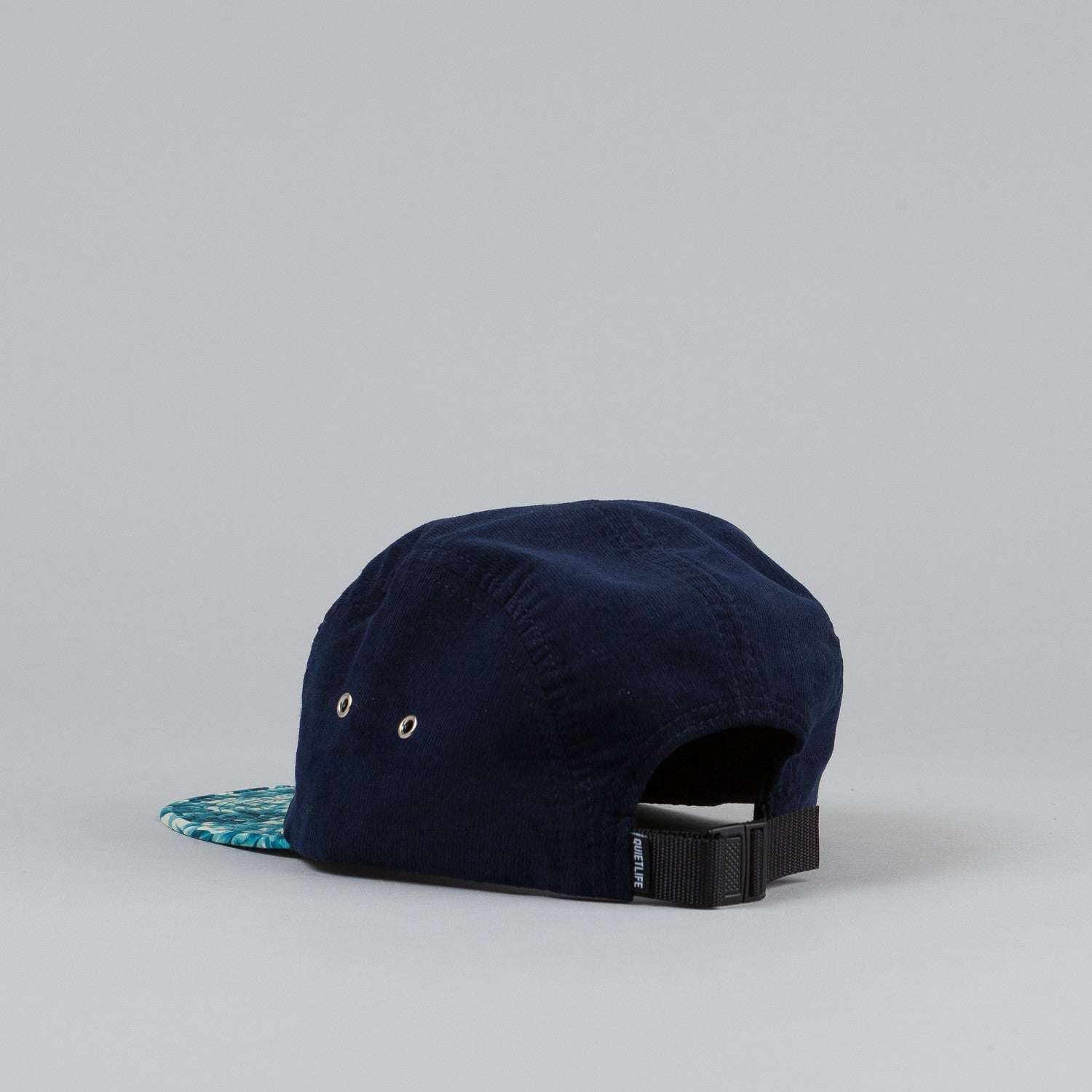 The Quiet Life Crystal 5 Panel Cap Blue Crystal Bill