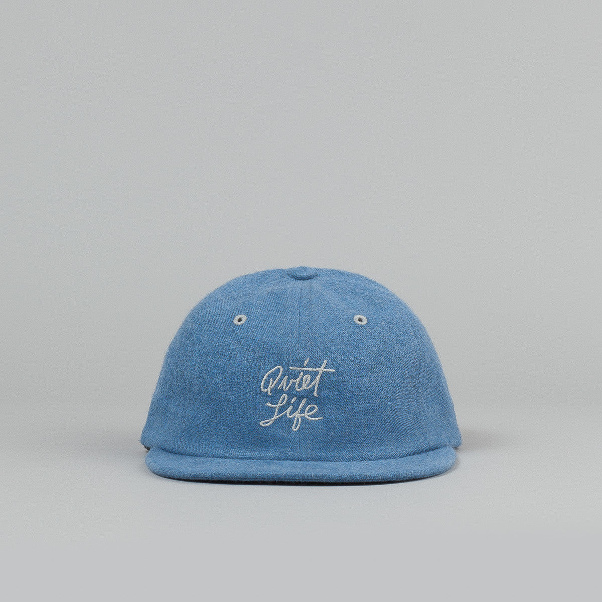 The Quiet Life Cursive Polo Cap - Blue