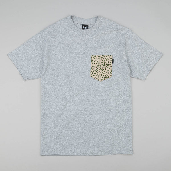 The Quiet Life Dalmation Pocket T-Shirt - Heather Grey