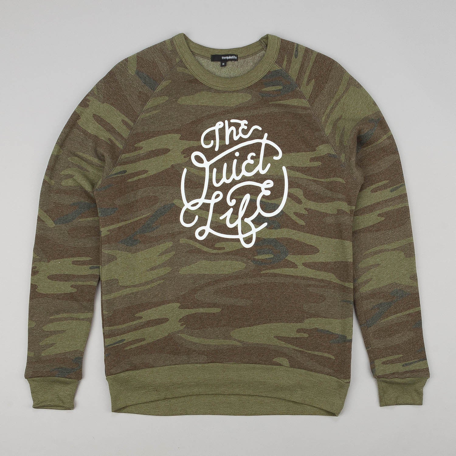 The Quiet Life Day Logo Crew Neck Sweatshirt - Camo