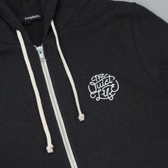 The Quiet Life Day Logo Hooded Sweatshirt - Black