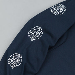 The Quiet Life Day Logo Long Sleeve T-Shirt - Navy