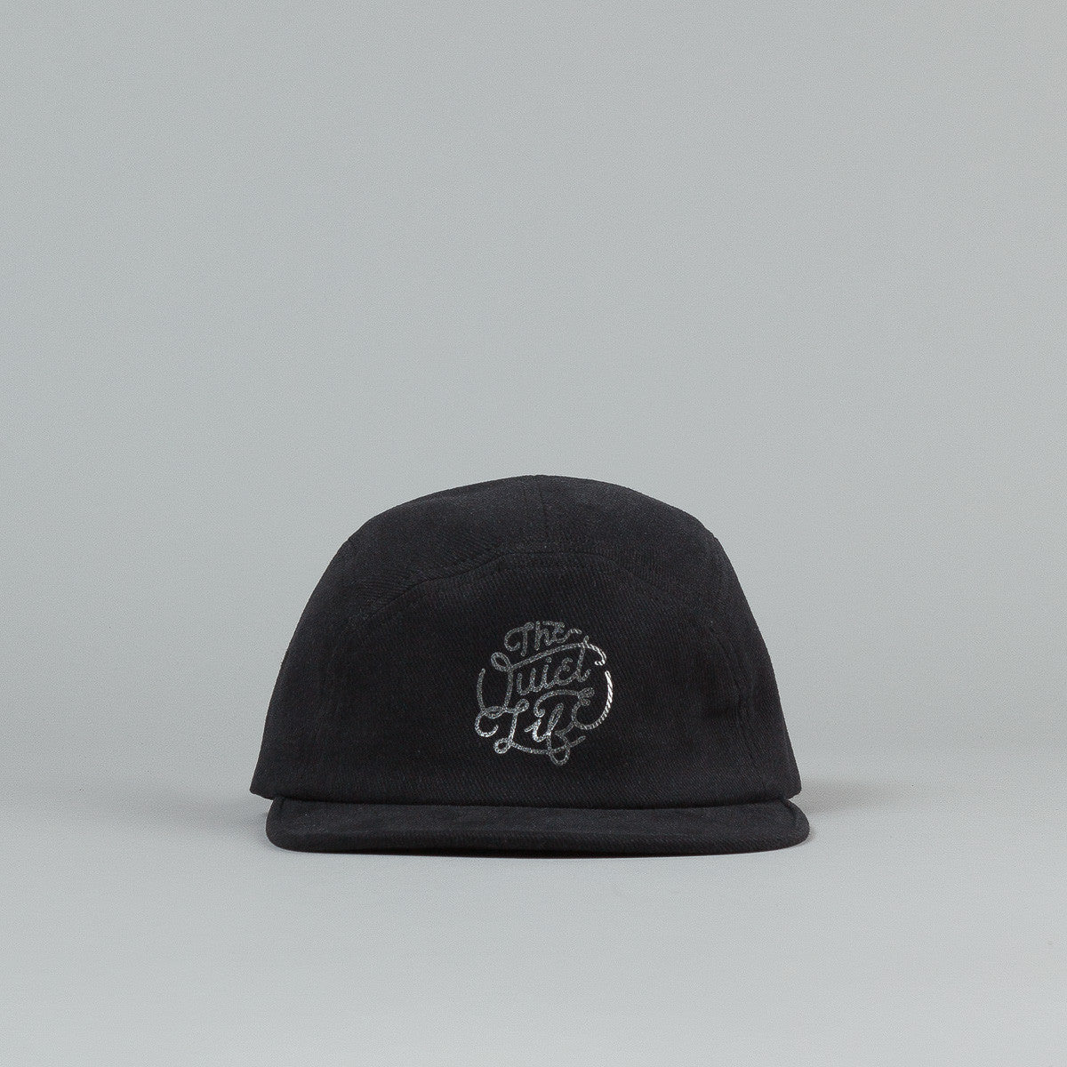 The Quiet Life Day Logo Moon Cap - Black