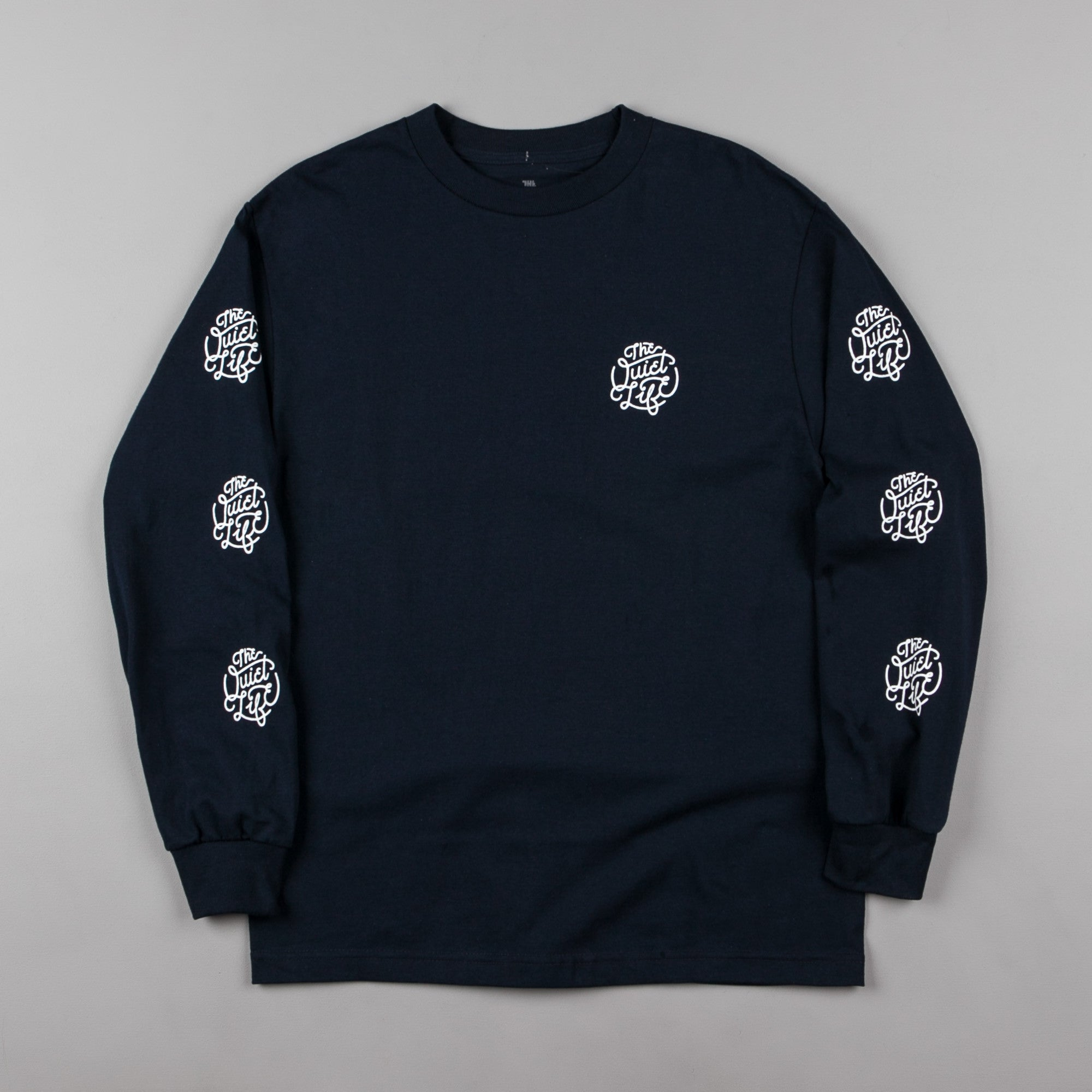The Quiet Life Day Logo Premium Long Sleeve T-Shirt - Navy